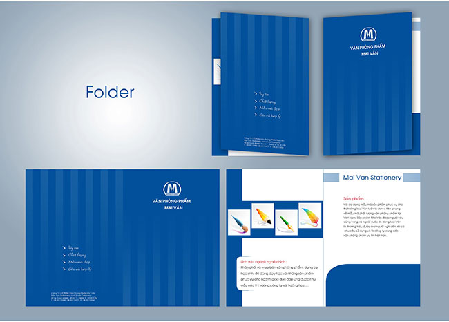 In folder, bìa hồ sơ giá rẻ ở TPHCM