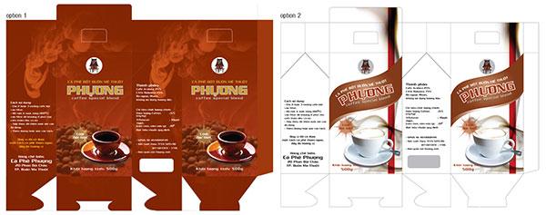 In hộp giấy đựng cà phê ở TPHCM