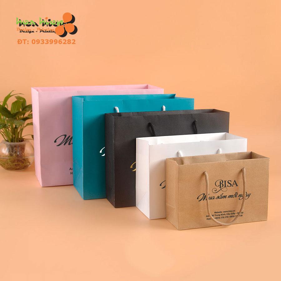 In ấn thiết kế túi giấy TPHCM