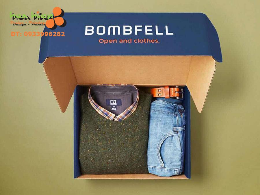 In hộp đựng quần áo
