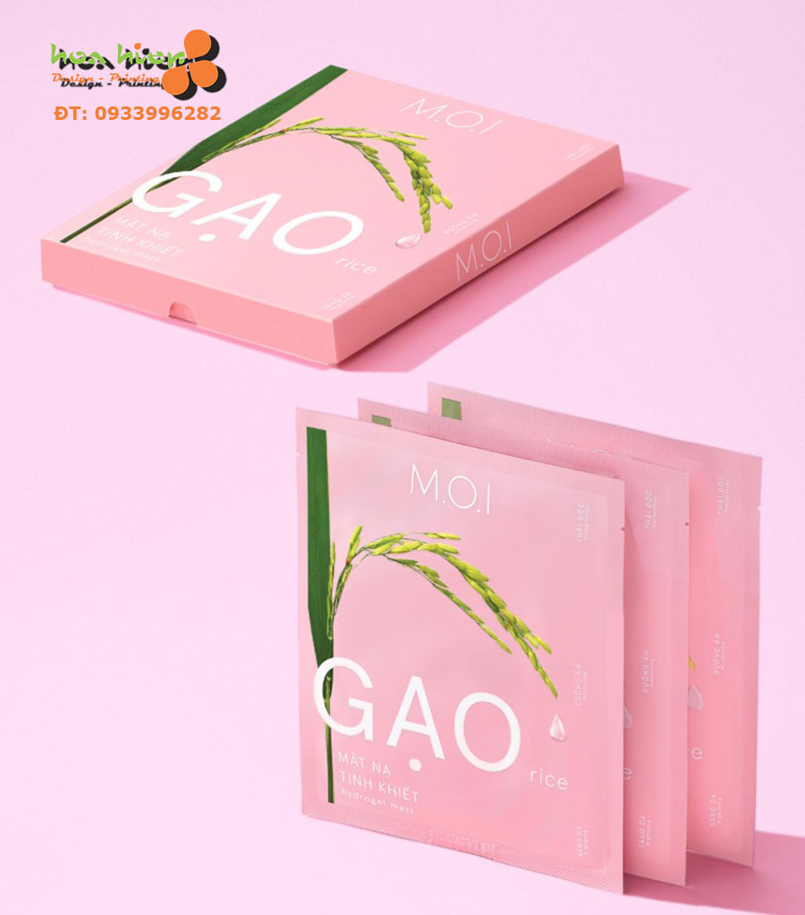 In bao bì mặt nạ