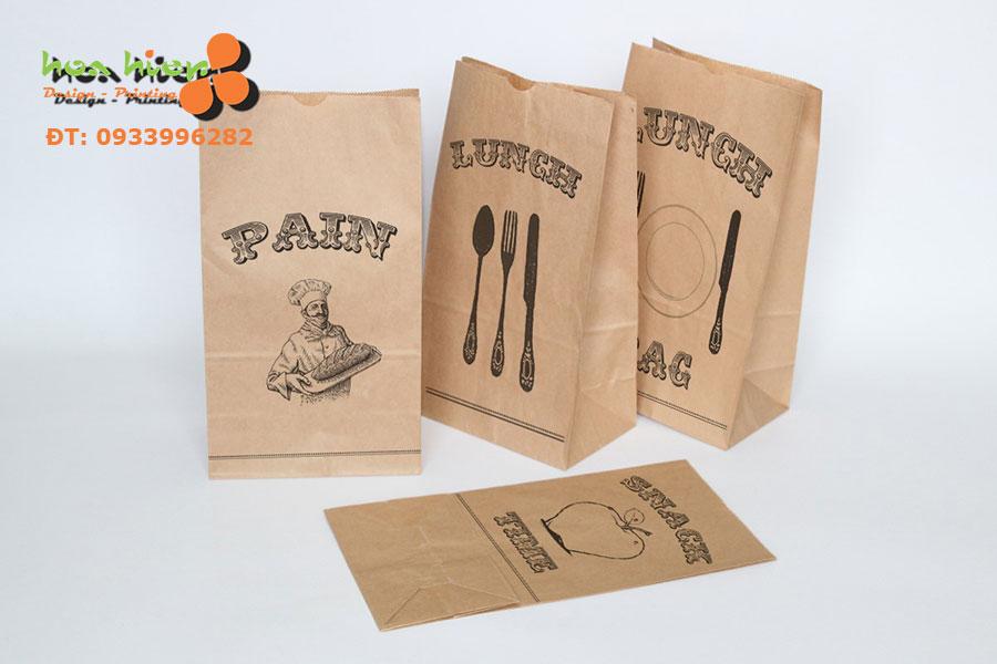 In túi giấy thực phẩm HCM