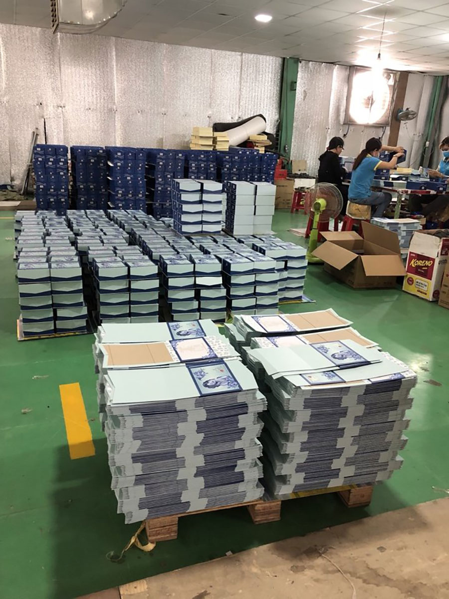 Xưởng in túi giấy